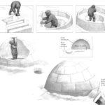 Śnieżne schronienia - Budowa igloo