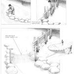 Zastawianie pułapek i sieci na ryby