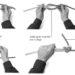 Łączenie lin i wiązanie na krzyż